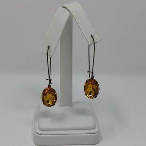 🆕Austrian Crystal Oval Dangle Earrings